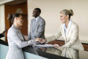 Hotel är ofta stora affärsrörelser för affärsgäster